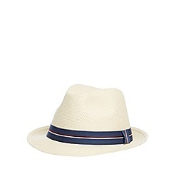 Hammond & Co. by Patrick Grant - Designer natural straw hat