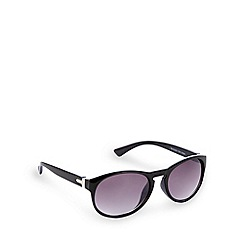 Red Herring - Black rounded sunglasses