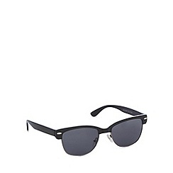 Red Herring - 50's preppy black/gunmetal sunglasses