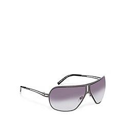 FFP - Light grey metal aviator sunglasses