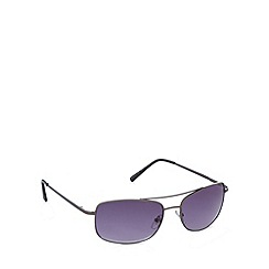 Maine New England - Full frame shiny gunmetal sunglasses