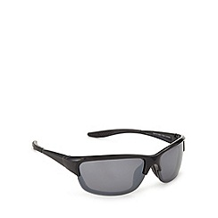 Mantaray - Black polarised square sunglasses