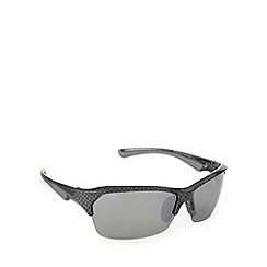 Mantaray - Polarized carbon fibre half frame sunglasses