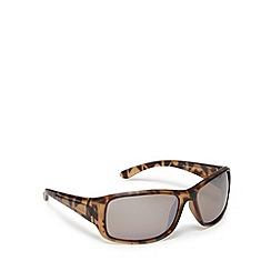 Mantaray - Polarized plastic wrap tort sunglasses
