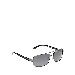Maine New England - Square full frame matt gun sunglasses