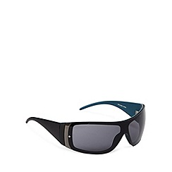FFP - Grey lensed rimless visor sunglasses