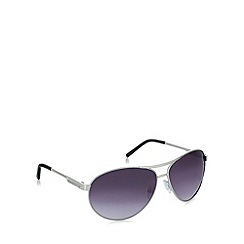 Red Herring - Aviator silver sunglasses