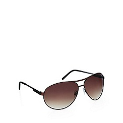 Red Herring - Aviator bronze sunglasses