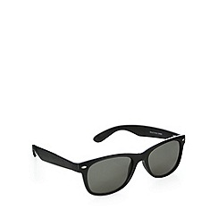 Red Herring - D frame shiny black sunglasses