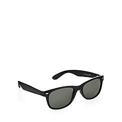 Red Herring - D frame shiny black sunglasses