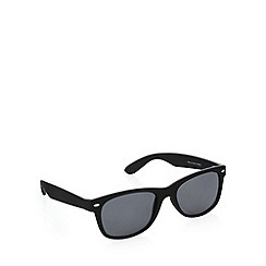 Red Herring - D frame matt black sunglasses
