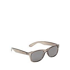 Red Herring - Crystal D-frame sunglasses