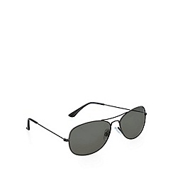 Red Herring - Small aviator gunmetal sunglasses