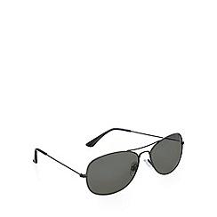 Red Herring - Small aviator gunmetal sunglasses