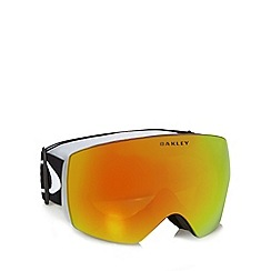 Oakley - Orange rimless ski goggles