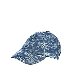 Mantaray - Navy Hawaiian indigo baseball cap