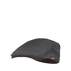 J by Jasper Conran - Dark grey flat cap