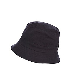 Mantaray - Navy Hawaiian reversible bucket hat