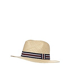 Osborne - Beige striped band hat