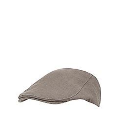 RJR.John Rocha - Grey flat cap