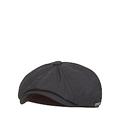 J by Jasper Conran - Dark grey baker boy cap