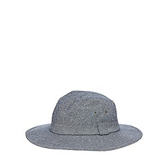 Osborne - Grey broad brimmed hat