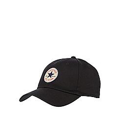 Converse - Black logo baseball cap
