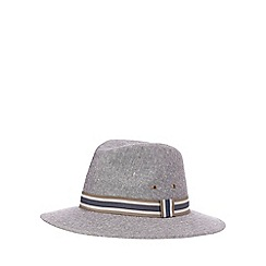Osborne - Grey structured ambassador hat