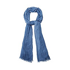 Red Herring - Blue textured scarf