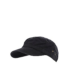 Mantaray - Black buckle baseball cap