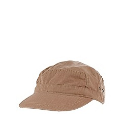 Mantaray - Tan buckle baseball cap