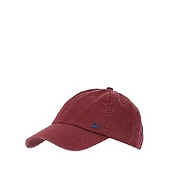 Mantaray - Dark red baseball cap