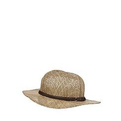 Osborne - Beige seagrass hat
