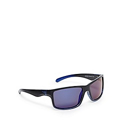 Mantaray - Black polarised square frame sunglasses