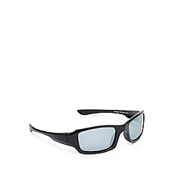 Mantaray - Grey polarised square sunglasses