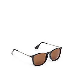 Red Herring - Brown tinted square sunglasses