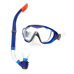 Speedo - Blue glide mask and snorkel set