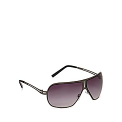Red Herring - Grey split arm visor sunglasses
