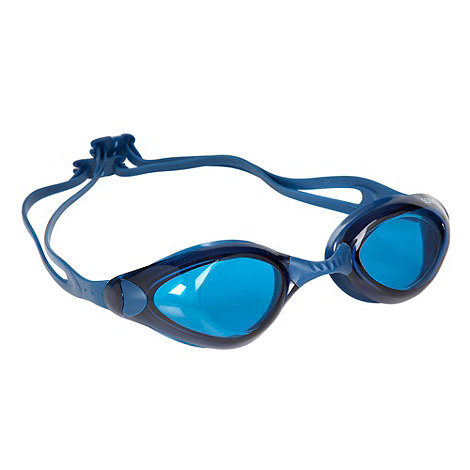 Speedo - Blue double strap swimming goggles