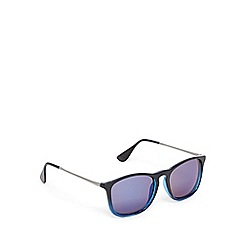 Red Herring - Blue tinted square sunglasses