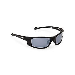 Mantaray - Grey polarised tinted rectangle sunglasses