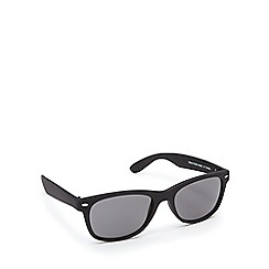 Red Herring - Black D-frame sunglasses