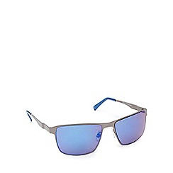 Red Herring - Blue tinted D-frame sunglasses