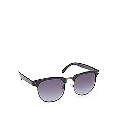 Red Herring - Grey preppy round sunglasses