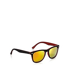 Red Herring - Red two tone D-frame sunglasses