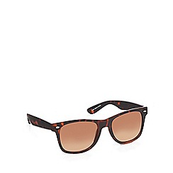 Red Herring - Brown tortoise shell D-frame sunglasses