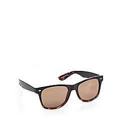 Red Herring - Brown tortoise shell D-frame sunglasses