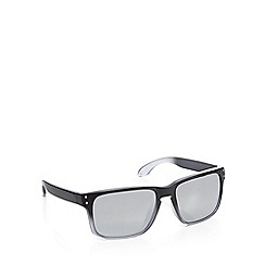 Red Herring - Silver ombre-effect square sunglasses