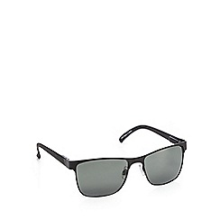 Red Herring - Green semi rimless D-frame sunglasses