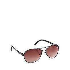 Red Herring - Brown aviator sunglasses
